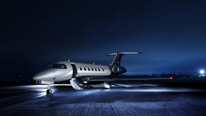 The comfort of a privet jet.