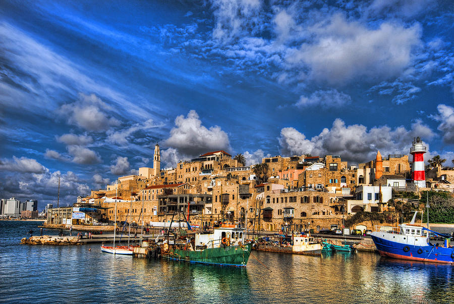 the-old-jaffa-port-ron-shoshani