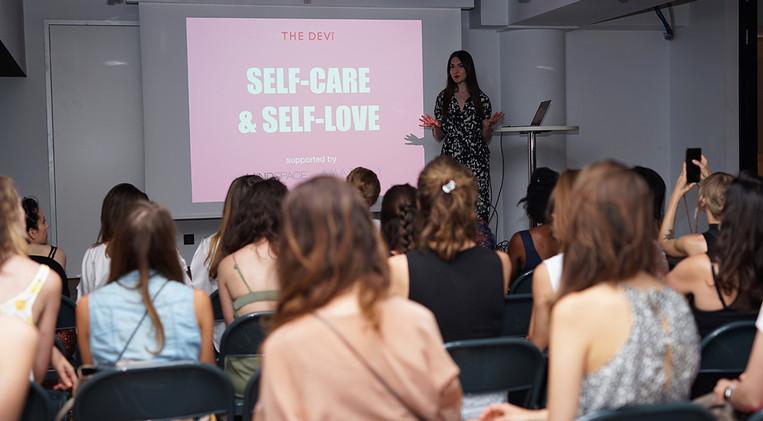 The Devi Event Women Self-Care Self-Love