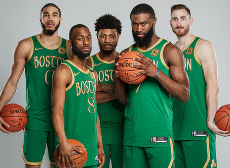 Boston Celtics 2019-20 Team Awards