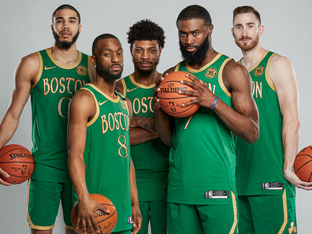Boston Celtics 2019-20 Team Awards