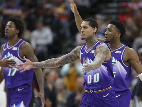 Utah Jazz 2019-20 Team Awards