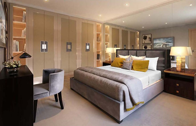 London - Bedroom - Designed as a collect