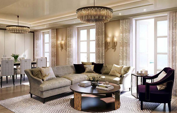 London - Living room - Designed as a col