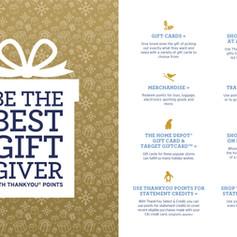 Citi ThankYou Marketing holiday brochure