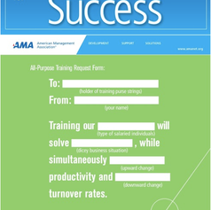 American Management Association B2B brochure