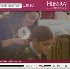 Humira customer acquisition ad campaign