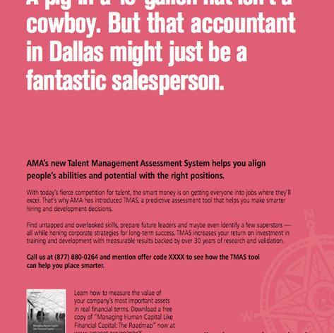 American Management Association B2B ads