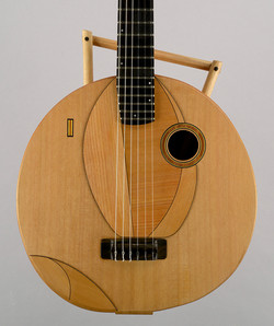 Tuku - Thierry Andre Instruments - for Oliver Mtukudzi - nylon string fruit-guitar calabash and ceda