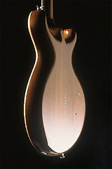 Orange project-Electric carved-top guitar, Thierry Andre Instruments