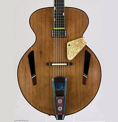 Clara Archtop guitar, Thierry Andre Instruments