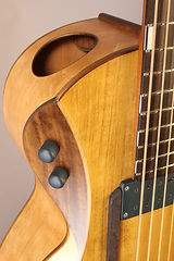 Maya 3- acoustic bass guitar, Thierry Andre Instruments