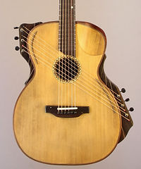 Raga- Bowl back acoustic guitar, Thierry Andre Instruments