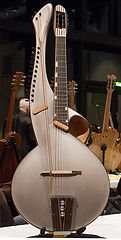 Multi-harp-guitar-model-Thierry Andre Instruments