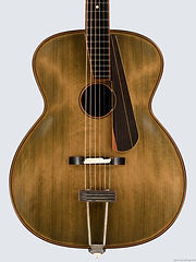 Old school archtop guitar, Thierry Andre Instruments