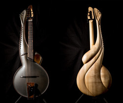 Multi 2 - Thierry Andre Instruments - Harp guitar w/sympathetic strings and sub-bass