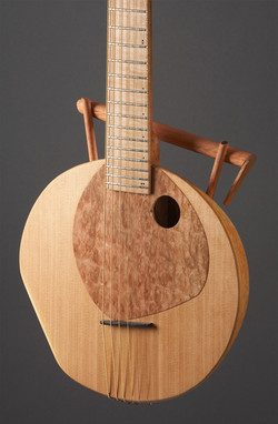Guitare-Fruit no.1 - Thierry Andre Instruments - gourd guitar 6 string
