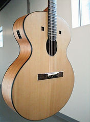 Sakura acoustic guitar, Thierry Andre Instruments