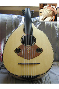Oud - Thierry Andre Instruments- for Mohamed Masmoudi
