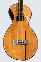 Maya- acoustic bass guitar, Thierry Andre Instruments