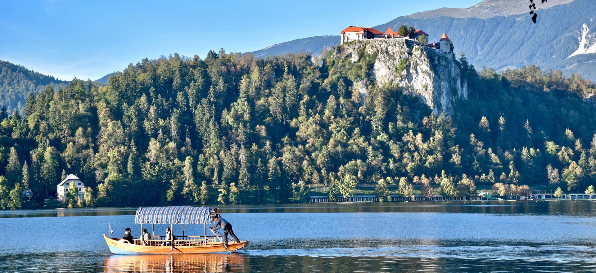 Castle Bled and pletna boat