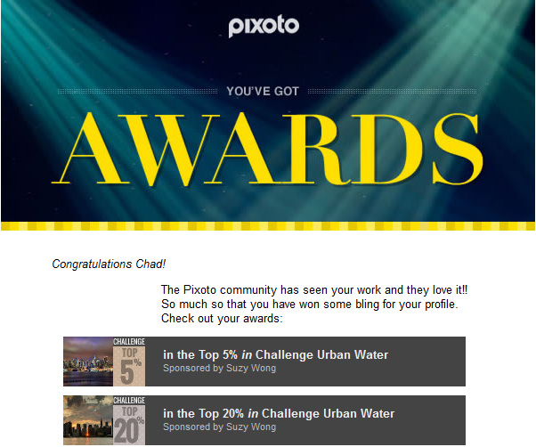 Pixoto Top 5% and 20% Urban Water