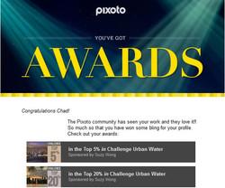 Pixoto Top 5% and 20% Urban Water