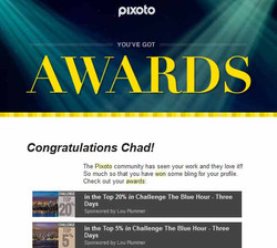 Pixoto Top 20% in Challenge The Blue Hour3 days, Top 5% Challenge The Blue Hour 3 days 2014