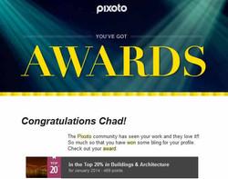 Pixoto Top 20% for January 2014 Building & Architecture