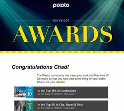 Pixoto Top 10% week Landscapes, Top 5% week City Street & Park 12-08-13