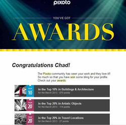 Pixoto Top 10% March Building & Architecture, Top 20% March Artistic Objects, Top 20% March Travel L