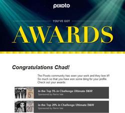 Pixoto Top 5% Challenge Ultimate B&W, Top 20% Ultimate B&W