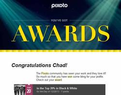 Pixoto Top 20% day Black & Whtie 12-28-13