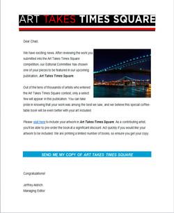 Art Takes Times Sqaure