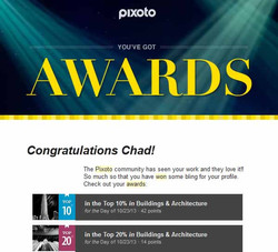 Pixoto Top 10% day Buildings & Architecture, Top 20% day Building & Arch 10-23-13