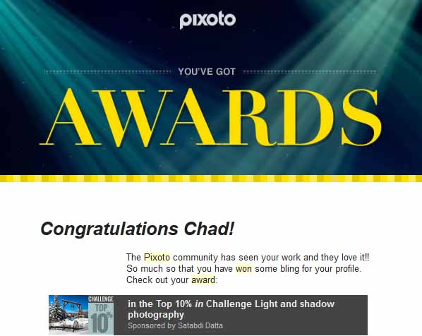 Pixoto Top 10% in Challenge Light & Shadow Photography 2014