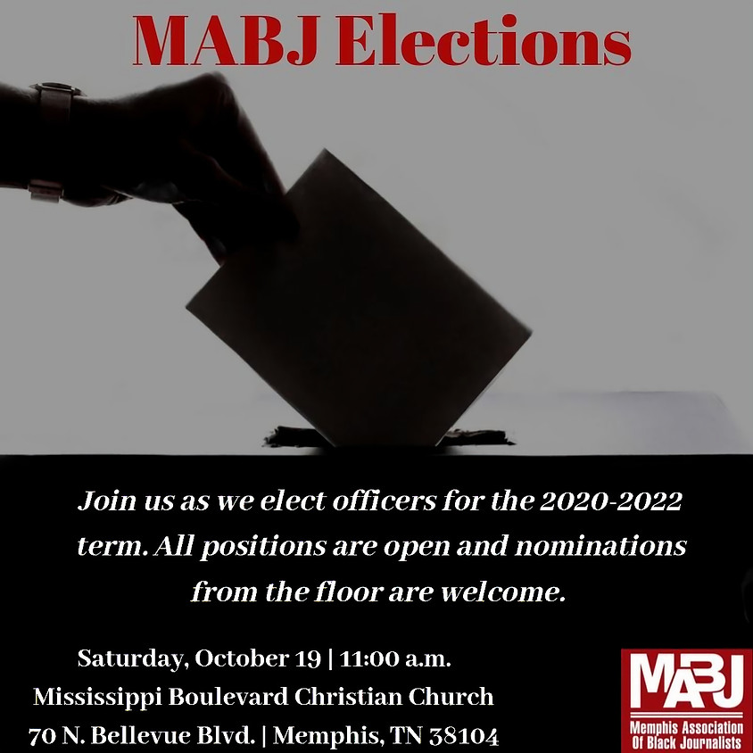MABJ Elections