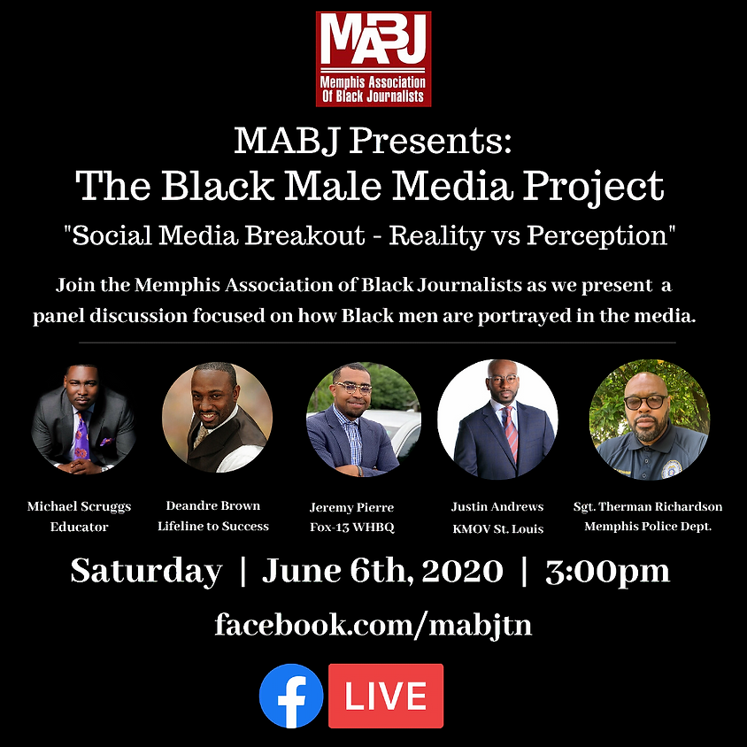 MABJ Presents the Black Male Media Project