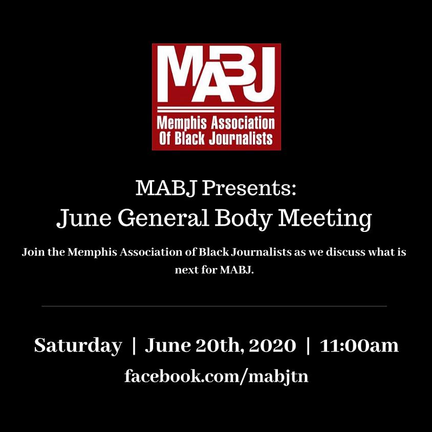 MABJ General Business Meeting