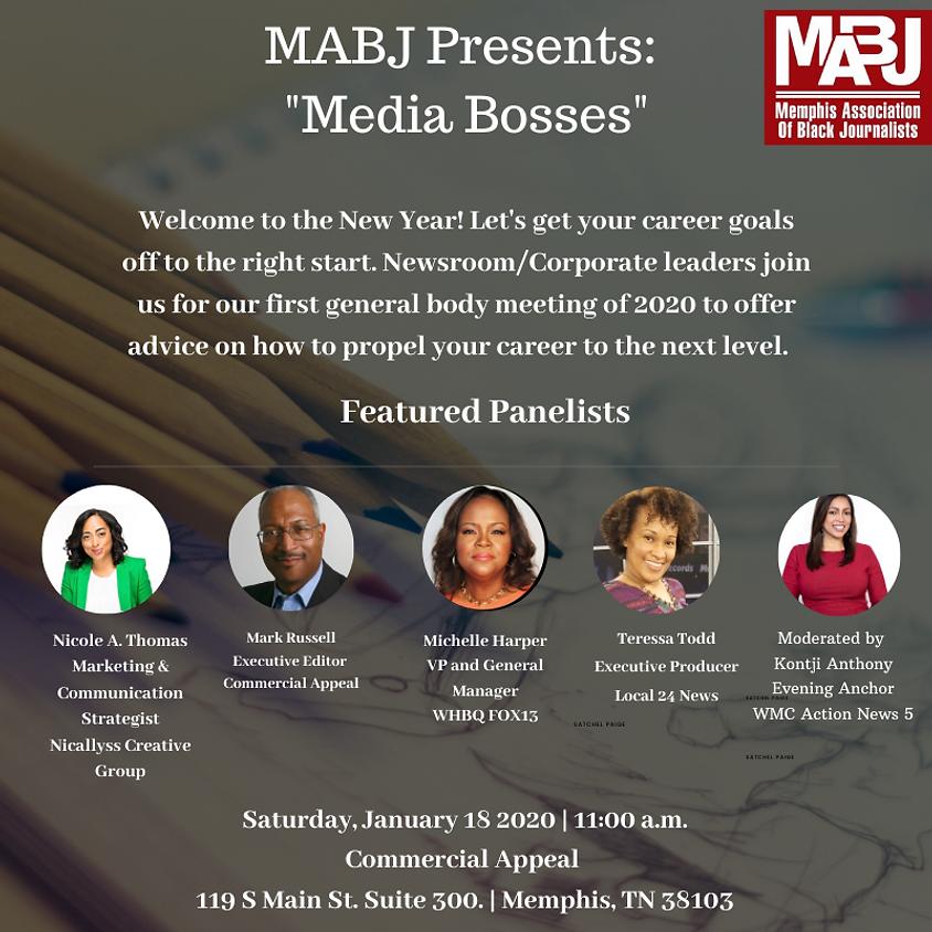 January MABJ General Body Meeting