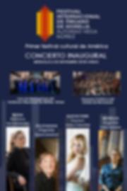 Concierto inaugural cartel digital Edita