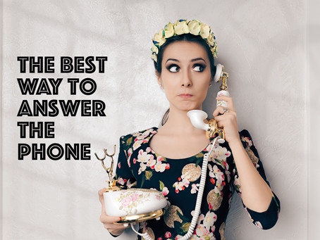 7 Tops Tips on Answering the Phone Well