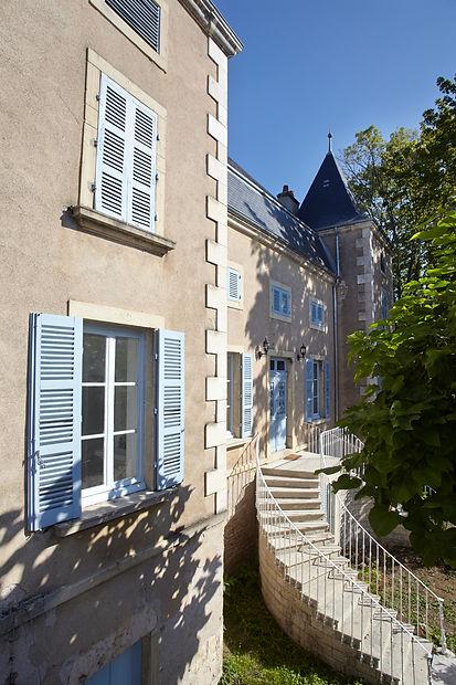 Maison de vacances Bourgogne Demeure de charme Manoir Château