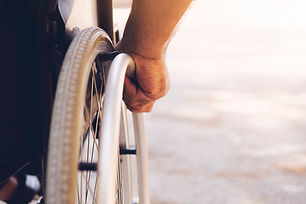 Closeup-photo-of-Young-disabled-man-hold
