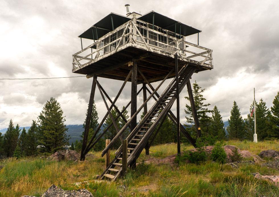 Fire Watch Tower