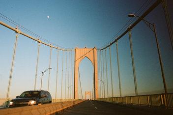 Bridge and Moon