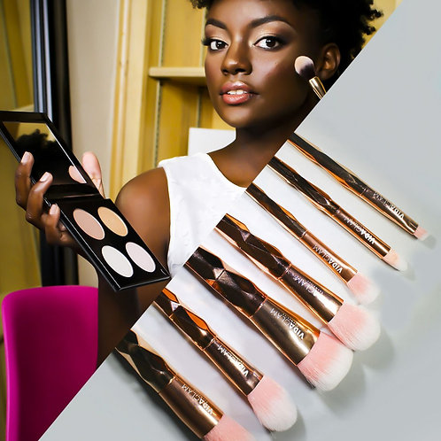 #AllGlowedUp With Limited Edition Brush Bundle