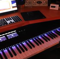 88 touches, clavier maitre, régie - Label Baboo Music - Studio b - 47220 Astaffort