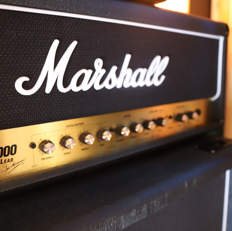 Matériel Marshall chez Baboo Music - Label Baboo Music - Studio b - 47220 Astaffort