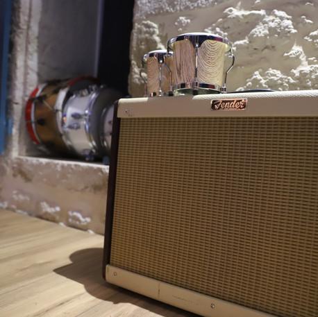 Ampli guitare à lampe - Label Baboo Music - Studio b - 47220 Astaffort